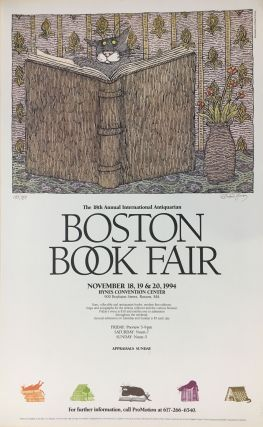 Boston Book Fair. Edward GOREY.