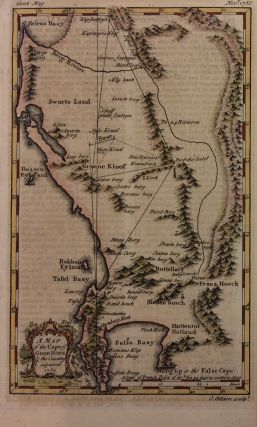 A Map of the Cape of Good Hope & the Country adjacent. J. GIBSON.