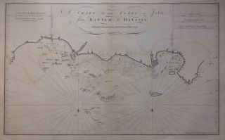 A Chart of the Coast of Java from Bantam to Batavia. Henry GREGORY
