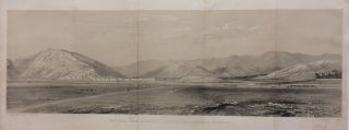 General View of Kabul, and the Surrounding Country. A. PICKEN