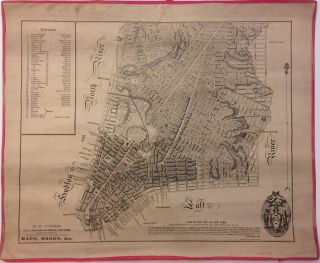 Plan of the City of New York Drawn from Actual Survey by Casimir Th. Goerck and Joseph Fr....