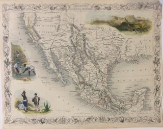 Mexico, California and Texas. John TALLIS