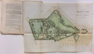 Design for Prospect Park as Proposed to be Laid Out for the City of Brooklyn And Map Showing...
