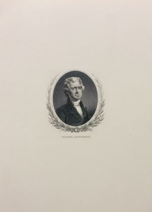 Thomas Jefferson Banknote Portrait. U S. BUREAU OF ENGRAVING AND PRINTING