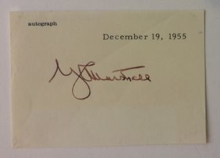 Signature. George C. MARSHALL.