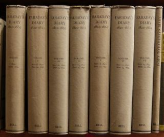 Faraday's Diary: Being the Various Philosophical Notes of Experimental Investigation...1820 -1862