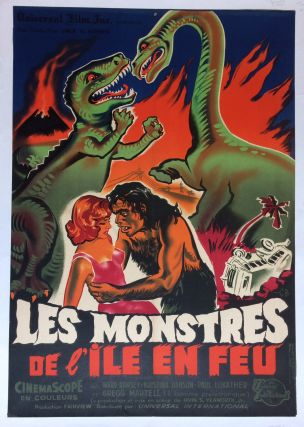 Les Monstres de l'Ile en Feu; (The Monsters of Fire Island). Constantin BELINSKY