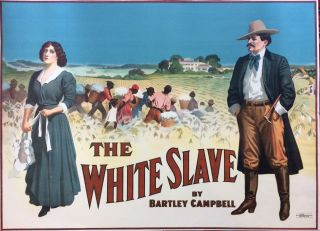 The White Slave. THE STROBRIDGE LITHOGRAPHY COMPANY
