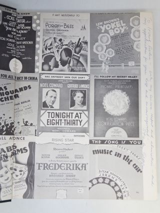 Ring Bells! Sing Songs! Broadway Musicals of the 1930's