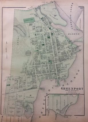 Greenport; Town of Southold. Frederick W. BEERS