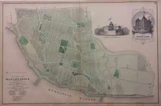 Design Map of Sea Cliff Grove; Glen Cove, L. I. Frederick W. BEERS