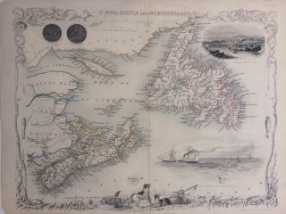 Nova Scotia and Newfoundland. John TALLIS
