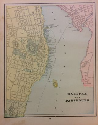 Halifax and Dartmouth. George F. CRAM
