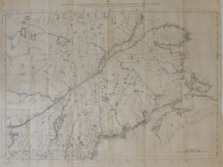 Map of Canada, Copied from the Second Edition of Mitchell's Map of the BRITISH COLONIES of NORTH...