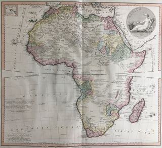 Africa. William FADEN, L. S. DE LA ROCHETTE