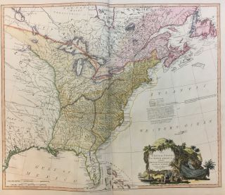 The United States of North America with the British Territories and Those of Spain; according to...