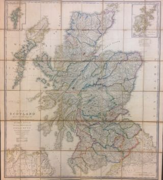 A Map of Scotland Drawn Chiefly from the Topographical Surveys of Mr. John Ainslie and from those...