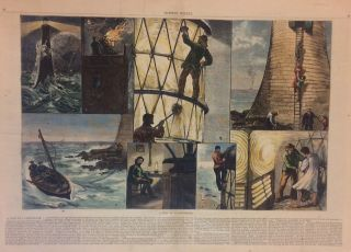 A Visit to a Light-House. W. B. MURRAY, HARPER'S WEEKLY
