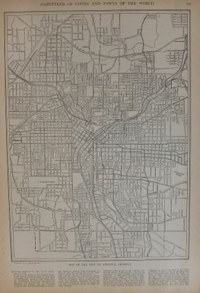 Map of the City of Atlanta, Georgia. P. F. COLLIER, Adam WARD.