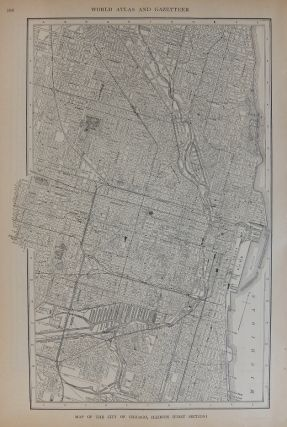 Map of the City of Chicago, Illinois (First Section); with Map of the City of Buffalo, New York....