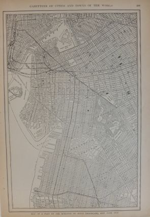 Map of a Part of the Borough of Kings (Brooklyn), New York City; with Map of Long Island, New York Showing the Boroughs of Brooklyn and Queens, New York City. P. F. COLLIER, Adam WARD.