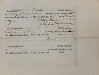 Share No. 20 of The Powdermill Turnpike Corporation