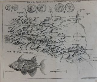 Map of the Black Lead Mines &c. in Cumberland. GENTLEMEN'S MAGAINE