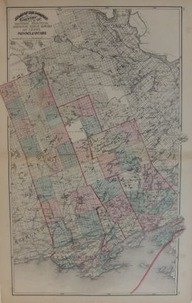 Counties of Hastings, Frontenac, Addington, Prince Edward and Lenox. Province of Ontario. H. F....