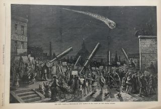 The New Comet-A Phenomenon Now Visible in All Parts of the United States. Thomas NAST, HARPER'S...