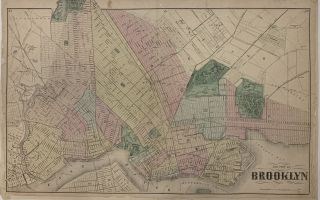 The City of Brooklyn. Frederick W. BEERS