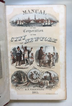 Manual of the Corporation of the City of New York, for 1865.