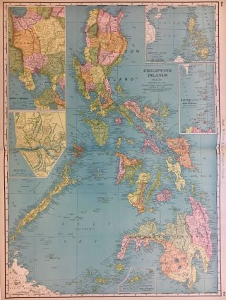 Rand McNally & Co.'s Philippine Islands. RAND MCNALLY, CO