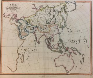 Asia for the Elucidation of the Abbe Gaultier's Geographical Games. Aspin JEHOSHAPHAT