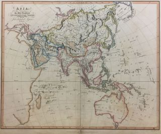 Asia for the Elucidation of the Abbe Gaultier's Geographical Games