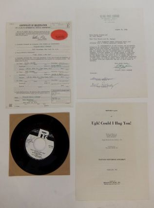 Music Contract. Gloria Shayne BAKER