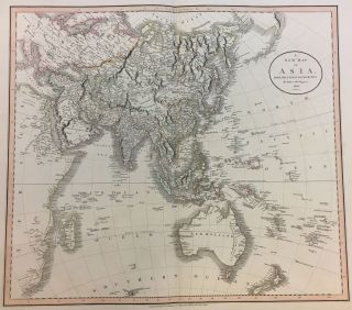 A New Map of Asia From the Latest Authorities. John CARY