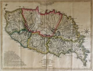 Grenada; Divided into its Parishes Surveyed By Order of His Excellency Governor Scott, and...