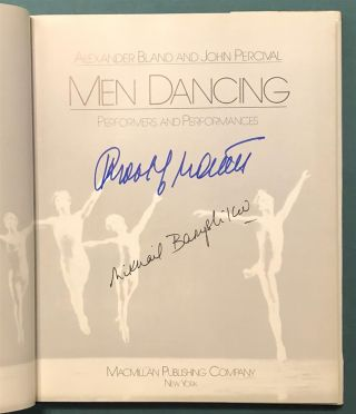 Men Dancing: Performers and Performances. Alexander BLAND, John PERCIVAL