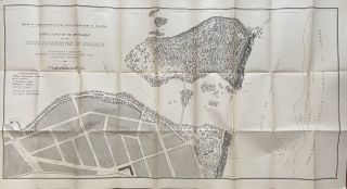 General Plan for the Improvement of the State Reservation at Niagara. Frederick Law OLMSTED,...