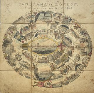The Panorama of London, or, A Day's Journey Round the Metropolis; An amusing and Instructive...