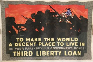To Make The World A Decent Place To Live In Do Your Part - Buy U.S. Government Bonds - Third...