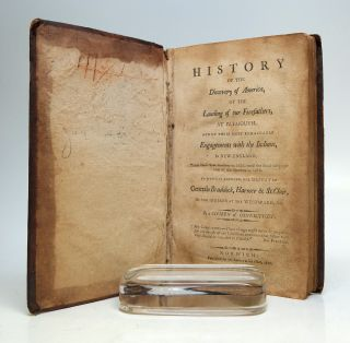 History of the Discovery of America; of the landing of our forefathers at Plymouth, and of their most remarkable engagements with the Indians in New-Englannd [sic], from their eirst landing in 1620, until the final subjugation of the natives in 1679. To which is annexed the particulars of almost every important engagement with the savages at the wesward to the present day. Including the defeat of generals Bradock, Harmer, and St. Clair, by the Indians at the westward; the Creek and Seminole war &c By a Citizen of Connecticut.