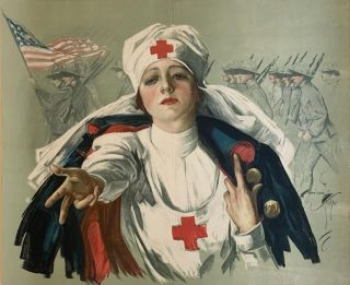 Untitled) Red Cross. Harrison FISHER