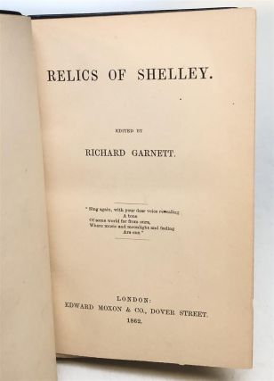 Relics of Shelley.
