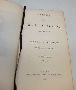 Memoirs of the War in Spain, From 1808 to 1814.
