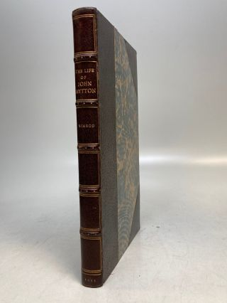 Memoirs of the Life of the late John Mytton. C. J. APPERLEY, NIMROD