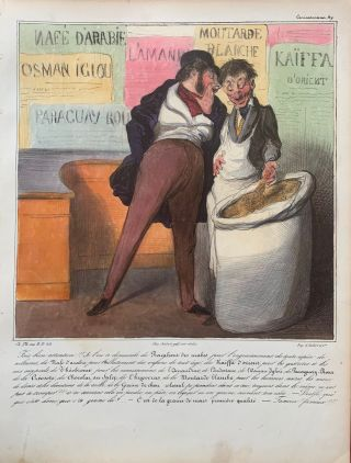 Racahout of the Arabs. Honore DAUMIER, Charles PHILIPON