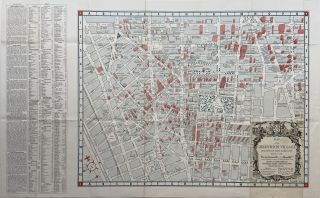 Map of the Greenwich Village Section of New York City. Lawrence FAHEY
