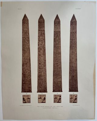 The Four Sides of the Obelisk. (Cleopatra's Needle.). Samuel Augustus BINION