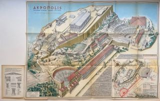 The Acropolis of Athens. AL. N. OEKONOMIDES
